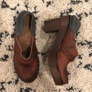 Free People Clog Shoe